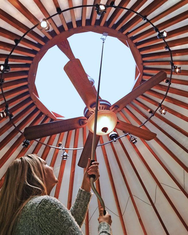 Yurt Dome Opener